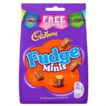 Cadbury Fudge Minis Bag 120g